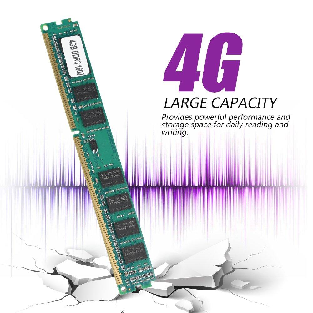 Tosuny DDR3 Ram 4GB, 240Pin Mini DDR3 4GB 1600MHz PC3-12800 ...