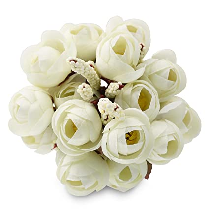 Amazon soledi 10 6 branch 18 heads artificial spring silk soledi 10quot 6 branch 18 heads artificial spring silk flowers camellia magnolia floral wedding peony mightylinksfo