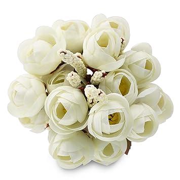Amazon Soledi 10 6 Branch 18 Heads Artificial Spring Silk