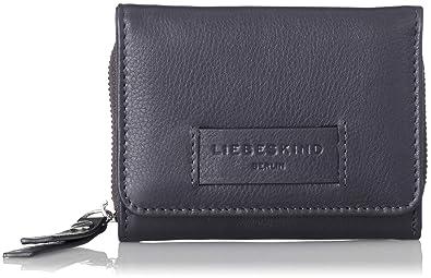Liebeskind Berlin Damen Essential Pablita Wallet Medium Geldbörse, Blau  (Navy Blue) 2x9x11 cm 95678bdac1