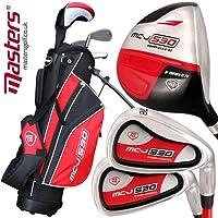 Masters Golf - Junior MC-J 530 Half Set Age 9-12 Rh Black/Silver