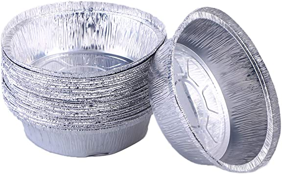 Amazon.com: BESTONZON - Moldes de aluminio para tartas, 20 ...