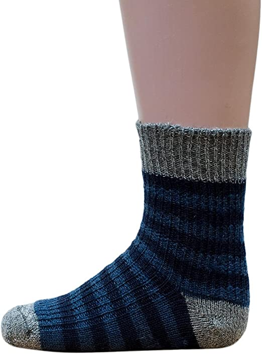 Hirsch Natur Striped Socks for Babies and Children 100/% Organic Wool