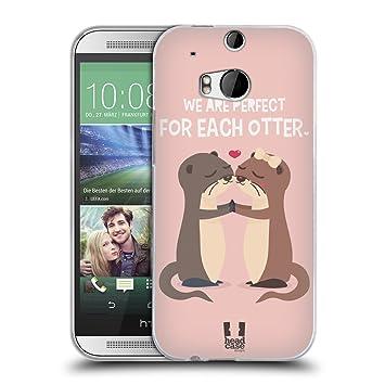 Head Case Designs Perfekter Kuss Mein Lieber Otter Soft Amazonde