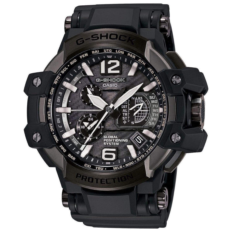 Casio G Shock重力マスターブラックダイヤルマルチソーラー腕時計gpw1000t-1 a B011JAVEQI