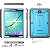 Galaxy Tab S2 8.0 Case, SUPCASE [Heavy Duty] Case for Samsung Galaxy Tab S2 8.0 Tablet [Unicorn Beetle PRO Series] Rugged Hybrid Protective Cover w/ Builtin Screen Protector Bumper (Blue/Black)