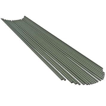 Tenax 06864 Tuteur Plastique Vert 60 cm Lot de 20: Amazon.fr: Jardin