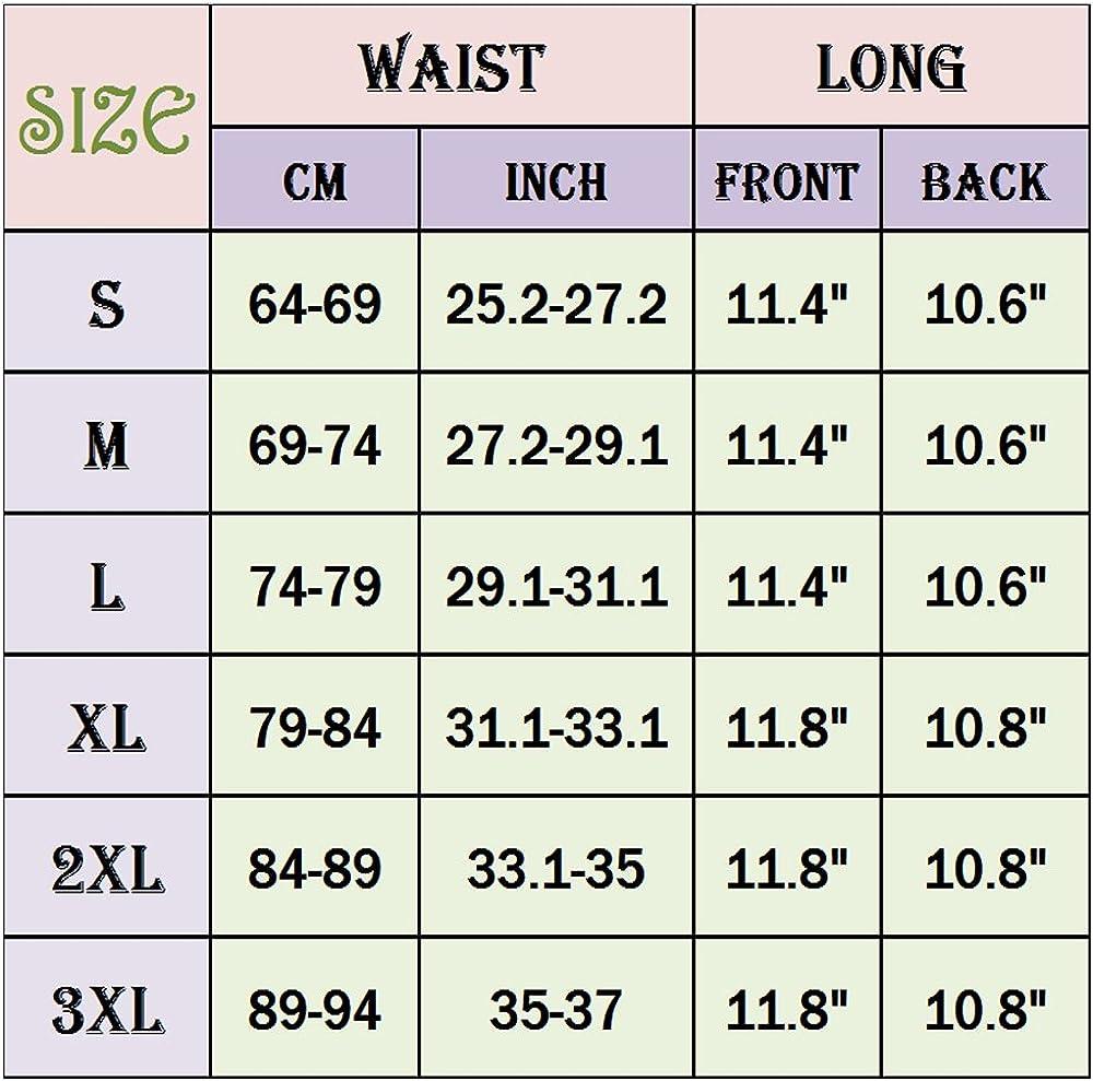 Lelinta 11 Latex Waist Cincher Waist Trainer Trimmer Long Torso 4 Hook Rows and Zipper