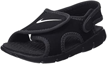 56eee740001f Image Unavailable. Image not available for. Colour  NIKE Boy s Sunray  Adjust 4 TD Toddler Sandal (Black Anthracite White ...