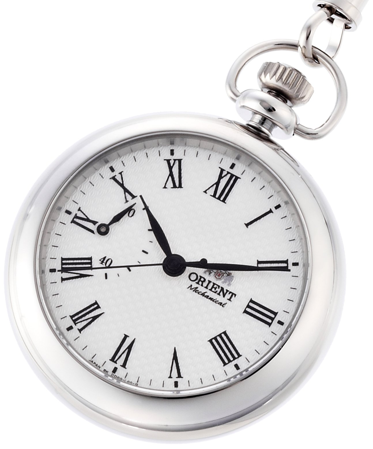 ORIENT WORLD STAGE Collection pocket watch hand winding sapphire glass WV0031DD by ORIENT (Image #4)