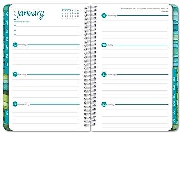 Amazon.com: Planificador calendario 2019 de tapa dura ...