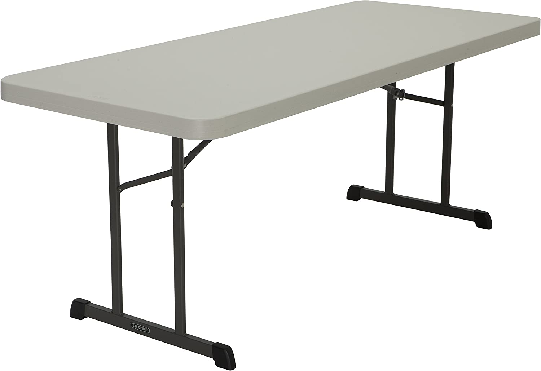 - Amazon.com: Lifetime Products 80249 Professional Folding Table, 6