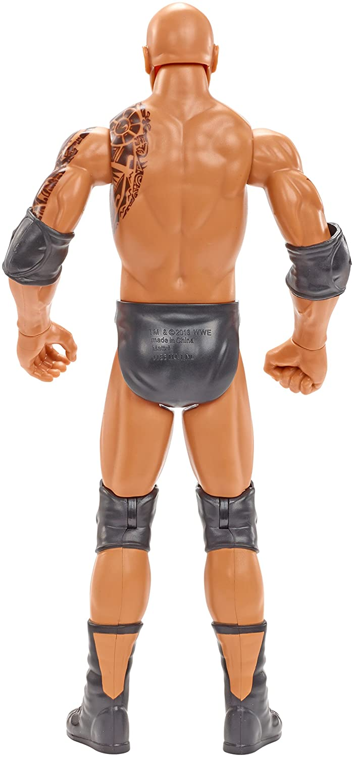 Wire Transfer WWE Superstars The Rock Figure 12 Action Figure Mattel Import FBH24