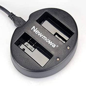 Newmowa USB Cargador Doble para Canon LP-E8 y Canon EOS 550D ...