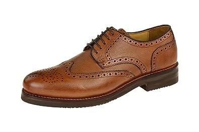 LEVET Herrenschuhe rahmengenähte Schuhe braun NEU Gordon