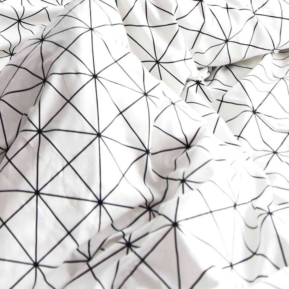 HIGHBUY Queen Kids Bedding Sets Full Cotton Dinosaur Animal Forest Print Duvet Cover Sets Queen Reversible Full Comforter Cover Blue Grids 3 Piece for Women Girls Boys Lightweight Soft Queen Bedding
