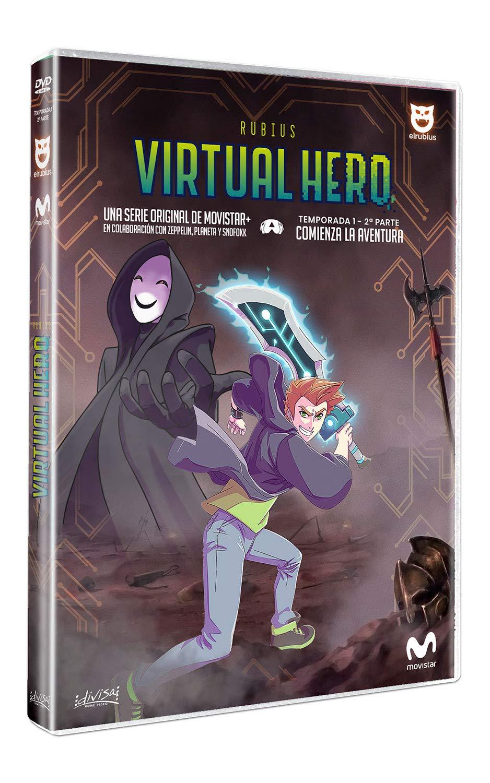 Virtual Hero Temporada 1 Parte 2 [DVD]: Amazon.es: Rubén Doblas, Miguel Ángel Rogel, Sergio Zamora, Alexis Barroso, Rubén Doblas, Miguel Ángel Rogel: Cine y Series TV