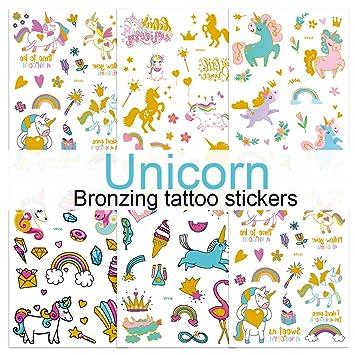 Amazon Com Children S Toys Creative Stickers Tattoos Bronzing