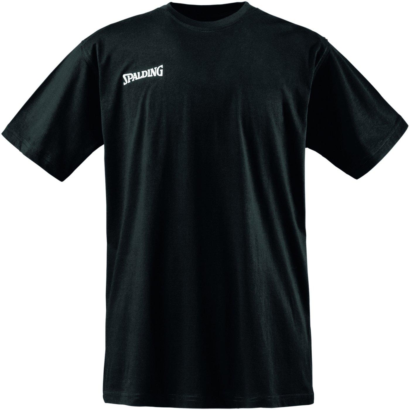 Spalding Promo tee Camiseta Baloncesto, Hombre