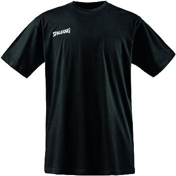 Spalding Promo tee Camiseta Baloncesto, Hombre: Amazon.es: Ropa y ...