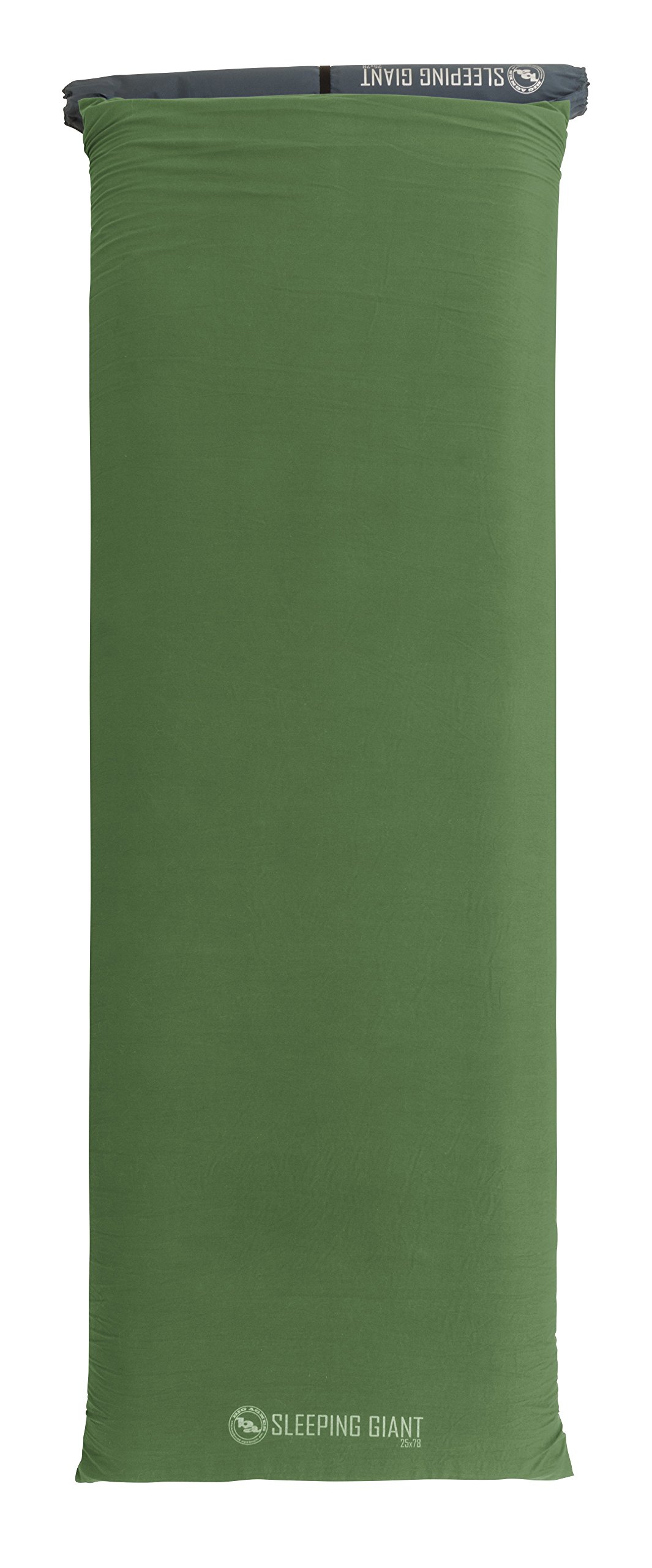 Big Agnes Sleeping Giant Memory Foam Pad Cover, Green/Blue, 25x78 Wide Long by Big Agnes