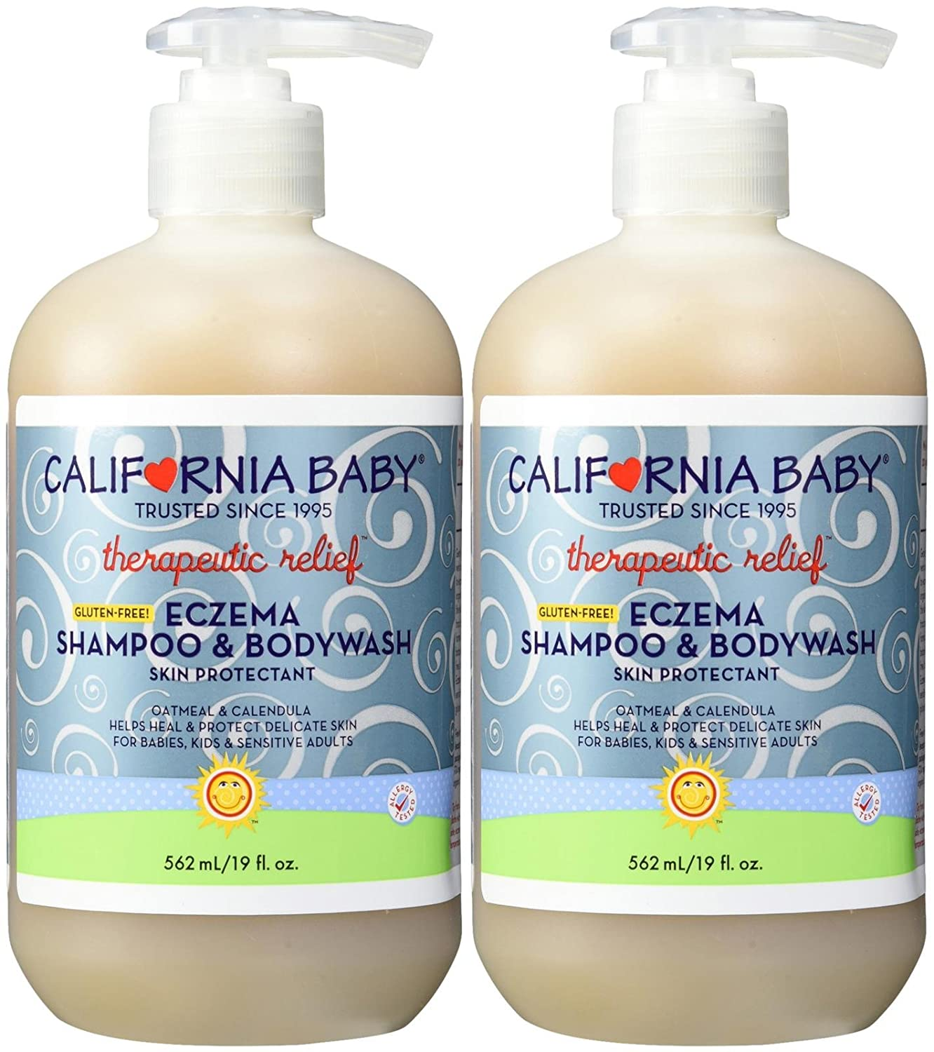 Amazon.com: California Baby Eczema Shampoo & Bodywash - No Fragrance ...
