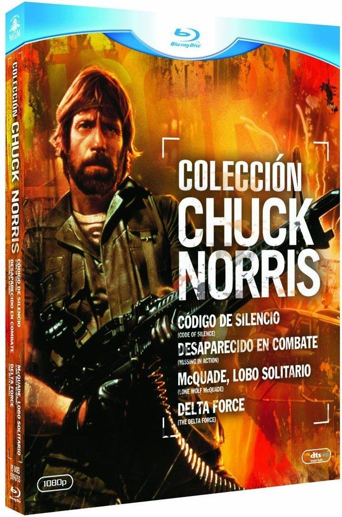 Coleccion Chuck Norris (Codigo De Silencio+Desaparecido En Combate+Mcquade, Lobo Solitario+Delta Force) - Blu-Ray [Blu-ray]