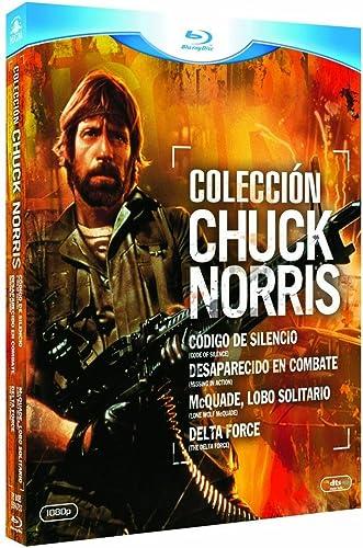 Coleccion Chuck Norris Codigo De Silencio+Desaparecido En