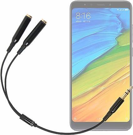 DURAGADGET Práctico Divisor De Auriculares para Smartphone Xiaomi ...