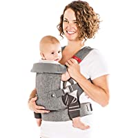 You+Me 4-in-1 Convertible Baby Carrier with 3D Cool Air Mesh (Heather Grey)