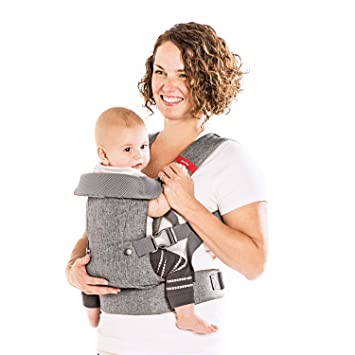 You+Me 4-in-1 Convertible Baby Carrier for Newborn with 3D Cool Air Mesh