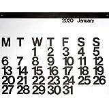 2020 Stendig Wall, Office, and Home Calendar | Authentic Original Design of Massimo Vignelli