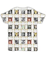 DAVID BOWIE FUNNY ALL OVER PRINTED T SHIRT COOL IDEAL GIFT BIRTHDAY PRESENT DESIGNER HIPSTER PRINTED MEN'S T-SHIRT