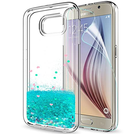 coque galaxy s6 edge plus paillette