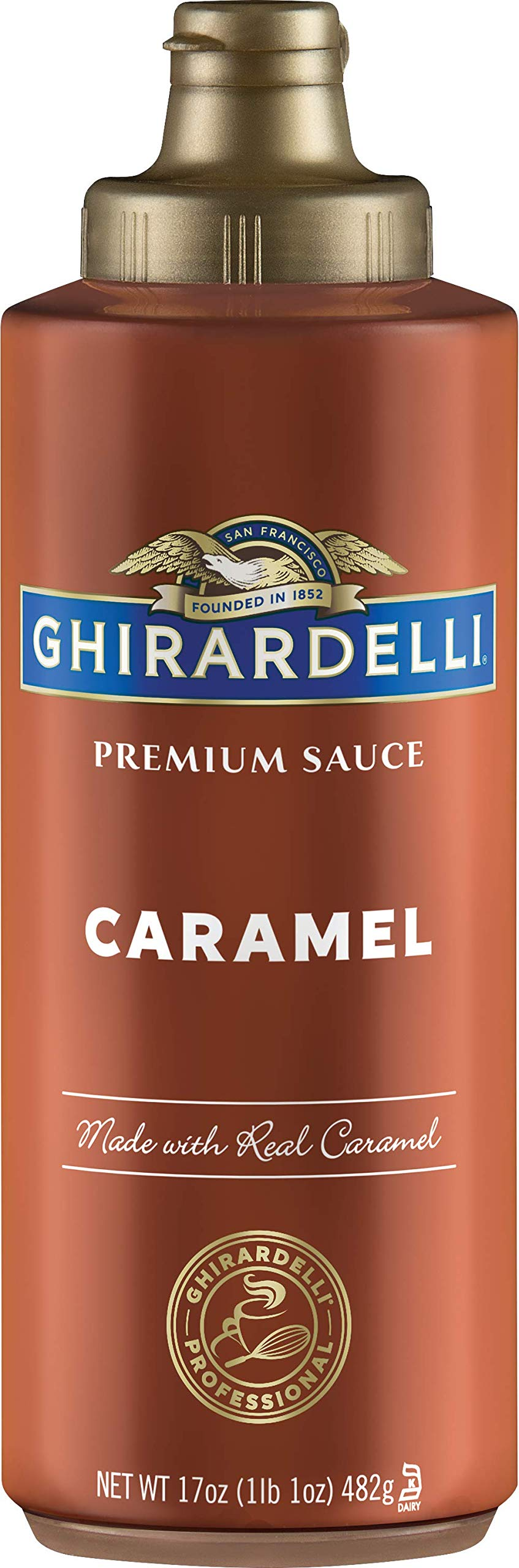 Ghirardelli Caramel Flavored Sauce 17 oz. bottle