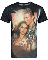 Star Wars Attack Of The Clones Sublimation Men's T-Shirt