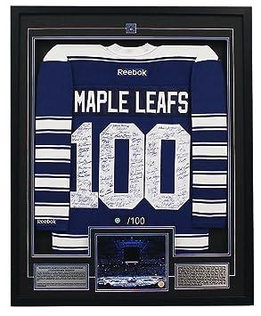 size 40 6419b 832b1 Toronto Maple Leafs Centennial 100 Player Signed 33x40 ...