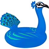 Coconut Float Peacock Swimming Pool Float, 61""