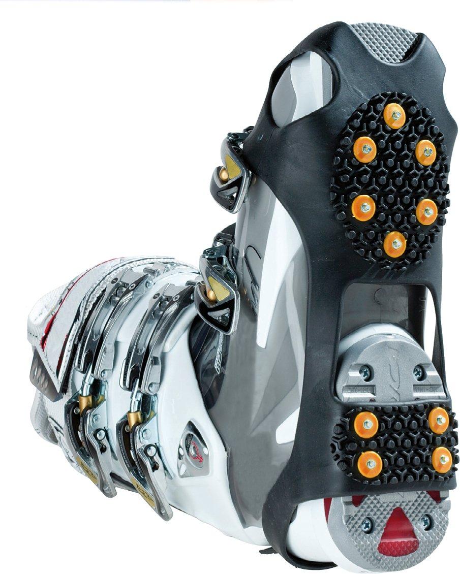 ODLO Womens Blackcomb Evolution Seamless Warm Pants-Concrete Grey//Black//Magenta Purple Small