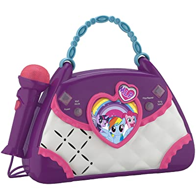 My Little Pony Magical Music Sing Along Boombox: Toys & Games