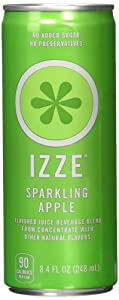 IZZE Fortified Sparkling Juice, 8 Apple, 8 Clementine, 8 Blackberry (8.4oz/can, Total Pack of 24)