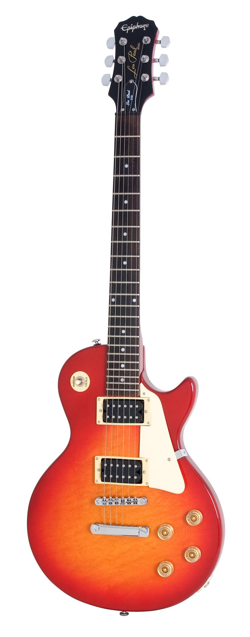Epiphone Les Paul-100 Electric Guitar, Heritage Cherry Sunburst