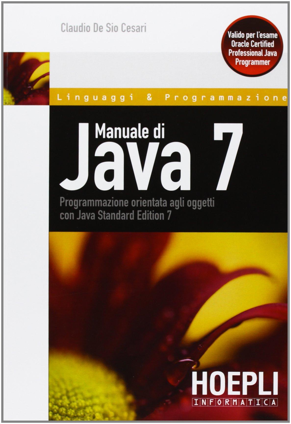 Manuale Java 7 Pdf