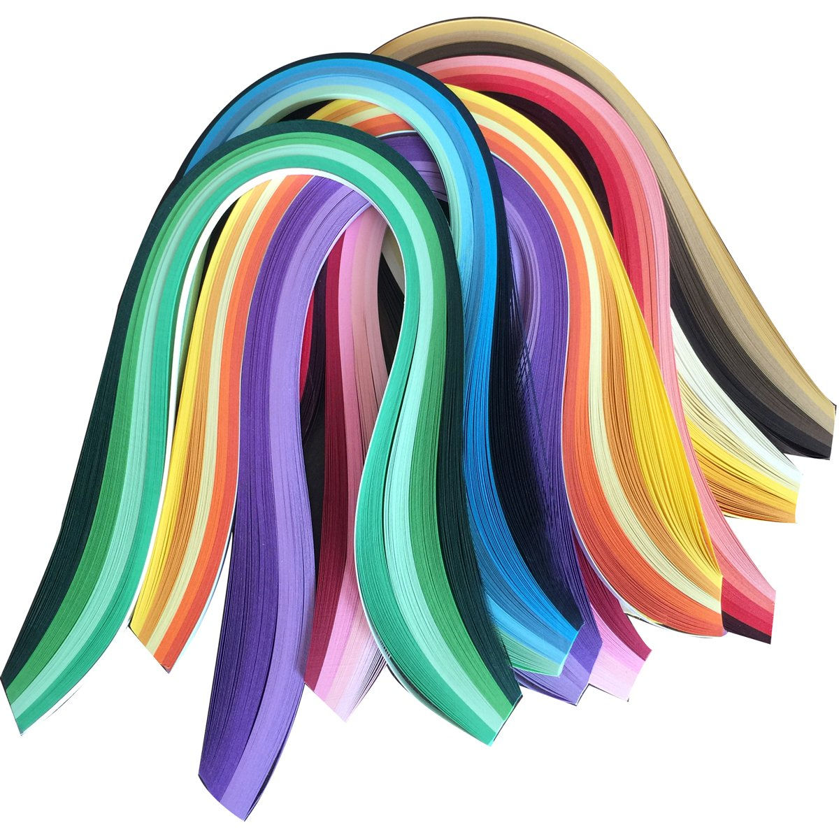 Lantee Quilling Paper Quilling Art Strips Set Pack of 8 (8 Series Colors) 4336889612