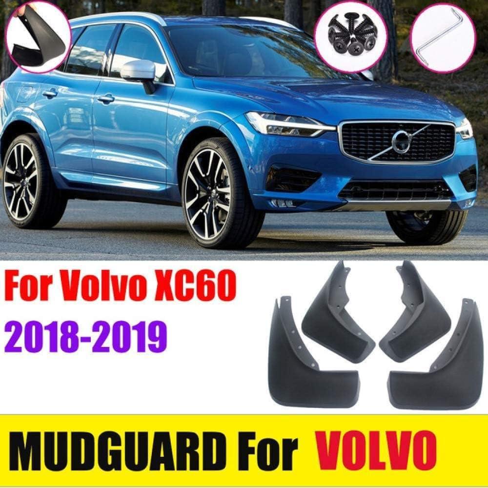 Avant Arri/ère Pare-Boue Caoutchouc /évasements Anti-/éclaboussures Accessoires,2009-2013 BTSDLXX 4 Pcs Ensemble Voiture Garde-Boue pour Volvo XC60 2009-2020