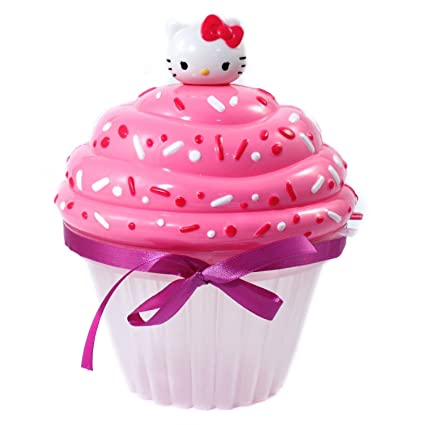6ea565f79 Amazon.com: Hello Kitty Bead Party Jewelry Making Play Craft Kit Set - Cup  Cake Shaped Storage Case + 800 Beads, Elastic Cording, Hello Kitty Charms