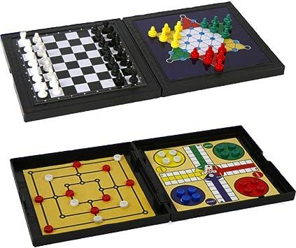 MT Viajes juego de mesa 5 en 1: Amazon.es: Juguetes y juegos