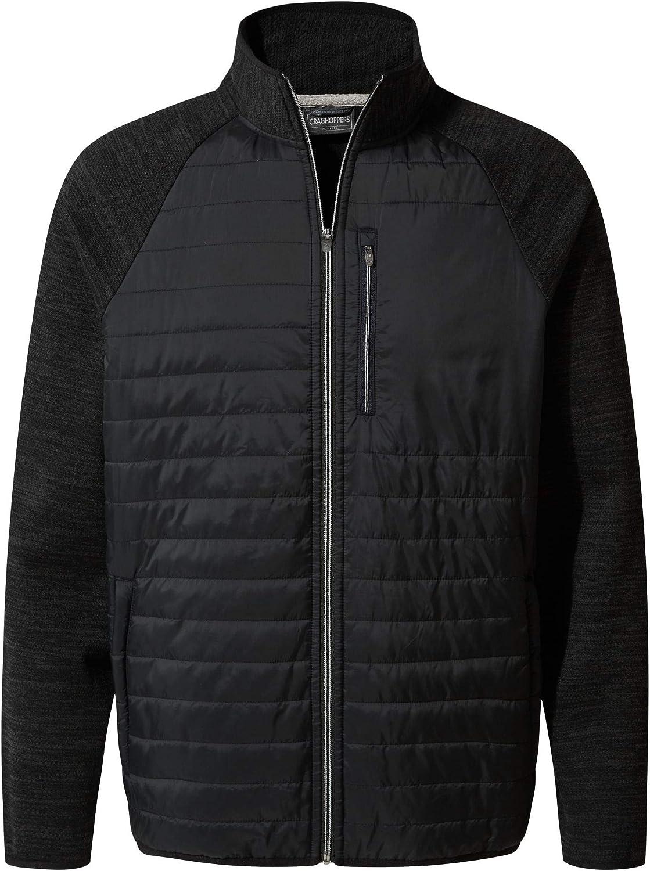Craghoppers Mens Da Hybrid Lightweight Microfleece Jacket