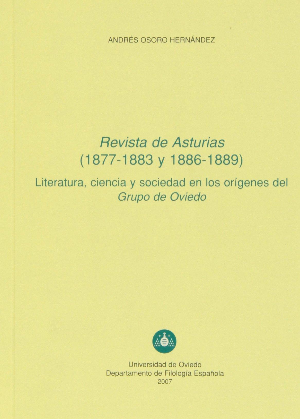 Revista de Asturias 1877-1883 y 1886-1889 Literatura ...
