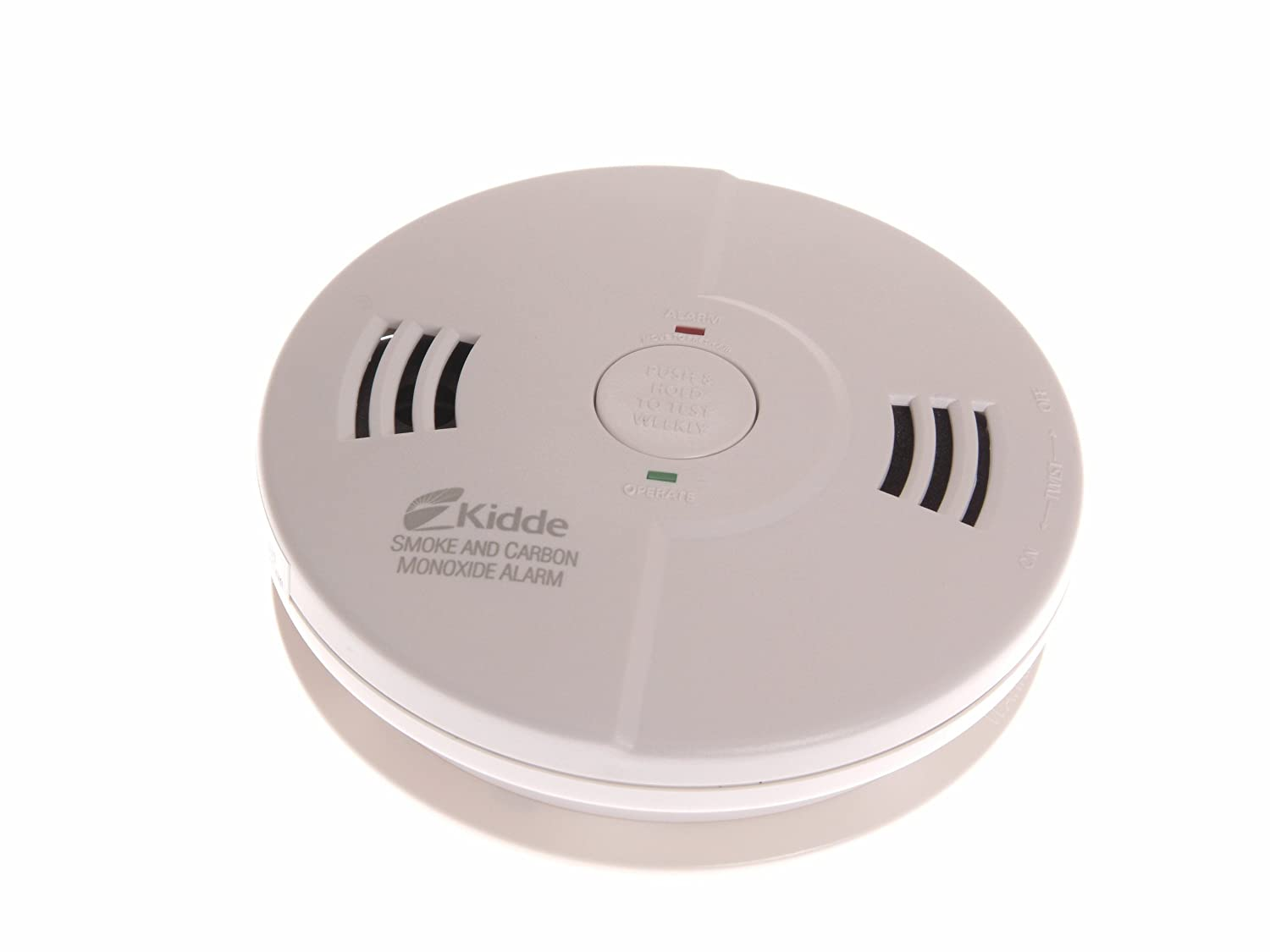 Kidde 0122UK Combination Smoke & Carbon Monoxide Alarm 10SCO